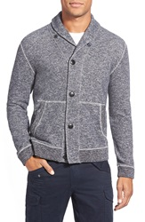 Grayers 'The Avalon' Button Front Shawl Cardigan Navy Marl