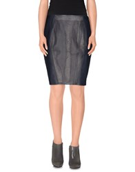 Elie Tahari Skirts Knee Length Skirts Women Dark Blue