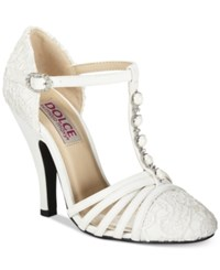 Dolce By Mojo Moxy Bunny T Strap Pumps Women's Shoes
