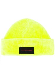 Alexander Wang 'Chyna Town' Patch Beanie Yellow