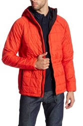 Weekend Offender Carrock Mars Quilted Jacket Red