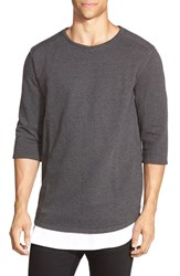 Men's Tavik 'Fairfax' French Terry Three Quarter Sleeve Sweatshirt