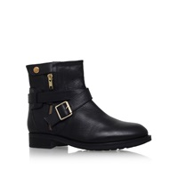 Carvela Samuel Low Heel Boots With Buckles Black