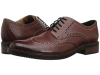Bostonian Maxton Wing British Tan Leather Shoes Brown