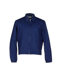 Hentsch Man Coats And Jackets Jackets Men Blue