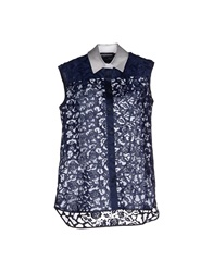 Ostwald Helgason Shirts Dark Blue