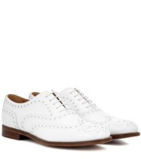 Church's Burwood Leather Oxford Shoes White