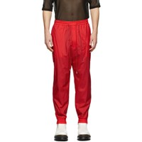 Juun.J Red Jogging Cargo Pants