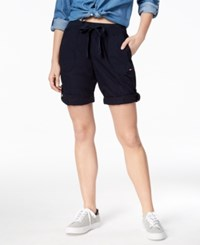 Tommy Hilfiger Sport Convertible Cargo Shorts Created For Macy's Navy
