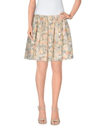 Girl By Band Of Outsiders Skirts Mini Skirts Women Beige