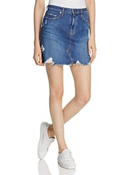 Nobody Piper Denim Skirt Reclaimed