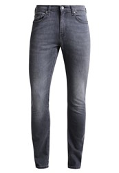 Pier One Slim Fit Jeans Grey Grey Denim
