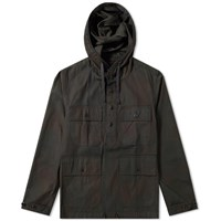Rrl Stirling Hooded Overshirt Black