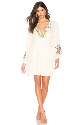 Free People Spell On You Mini Dress White
