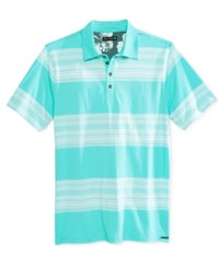 Ocean Current Men's Element Stripe Polo Blue Curacao