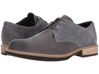 Ecco Kenton Plain Toe Tie Moonless Moonless Men's Plain Toe Shoes Black