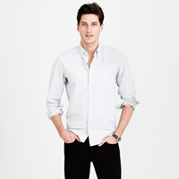 J.Crew Slim Vintage Oxford Shirt In Heathered Cotton