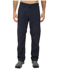 Jack Wolfskin Canyon Zip Off Pants Night Blue Men's Casual Pants Navy