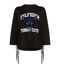 Hilfiger Collection Sequin Tomcats Sweater Black