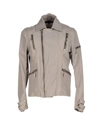 Just Cavalli Denim Outerwear Grey