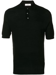 Pringle Of Scotland Slim Fit Polo Shirt Black