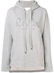 Lala Berlin Quinn Reflect Hoodie Grey