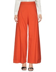 Liviana Conti Casual Pants Orange