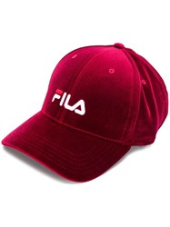 Fila Velvet Logo Embroidered Cap