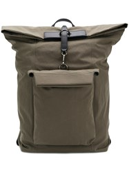 Mismo Zipped Style Backpack Green