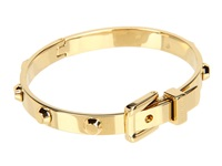 Michael Kors Astor Buckle Bangle Gold Bracelet