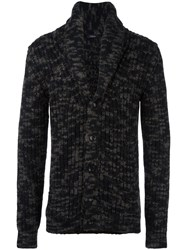 Roberto Collina Button Front Knit Cardigan Brown