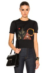 Givenchy Graphic Tee In Black