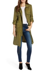 Cupcakes And Cashmere Freeda Coat Dusty Olive