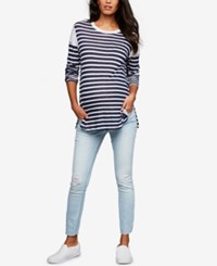 A Pea In The Pod Maternity Skinny Jeans Light Wash