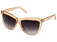 San Diego Hat Company Bsg1000 Sunglass Frames With Side Gold Panels And Gradient Lenses Cream Fashion Sunglasses Beige