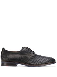 Lloyd Perforated Derby Shoes Black