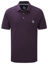 Tog 24 Holt Mens Polo Shirt Plum