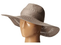 Bcbgmaxazria Basket Weave Floppy Hat Light Stone Traditional Hats Beige