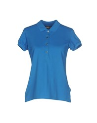 K Way Polo Shirts Blue