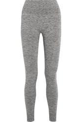 Lndr Eight Eight Stretch Knit Leggings Light Gray