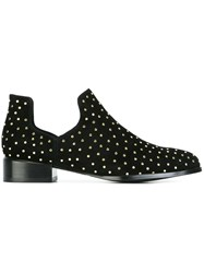 Senso 'Dalby Ii' Studded Cut Out Ankle Boots Black