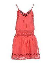 Giorgia And Johns Giorgia And Johns Dresses Knee Length Dresses Women Coral