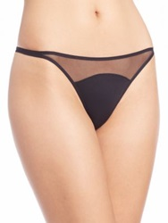 Addiction Nouvelle Basic Tanga Antique Rose Black