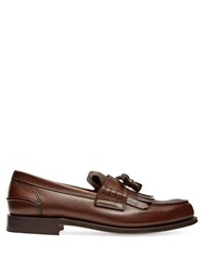 Church's Oreham Leather Loafers Brown
