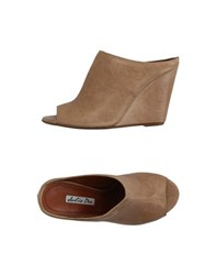 Julie Dee Footwear Sandals Women Camel