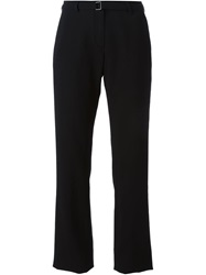 Ann Demeulemeester Blanche Belted Trousers Black
