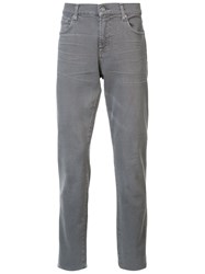 7 For All Mankind 'The Slimmy' Jeans Grey