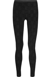 Gareth Pugh Stretch Fil Coupe Leggings Black