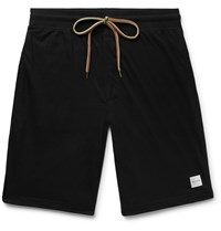 Paul Smith Cotton Jersey Drawstring Shorts Black