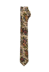 Forever 21 Floral Tapestry Skinny Tie
